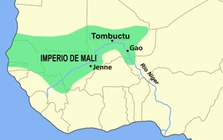 Map of Imperial Africa